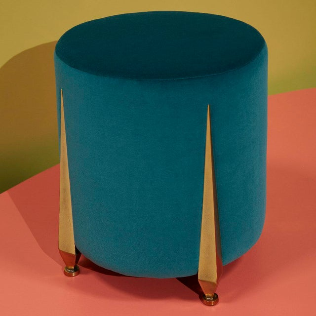 The Iris Stool by Talisman Bespoke For Sale - Image 9 of 11