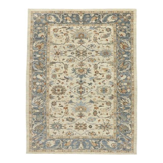 Contemporary Persian Sultanabad Rug - 09'05 X 12'03 For Sale