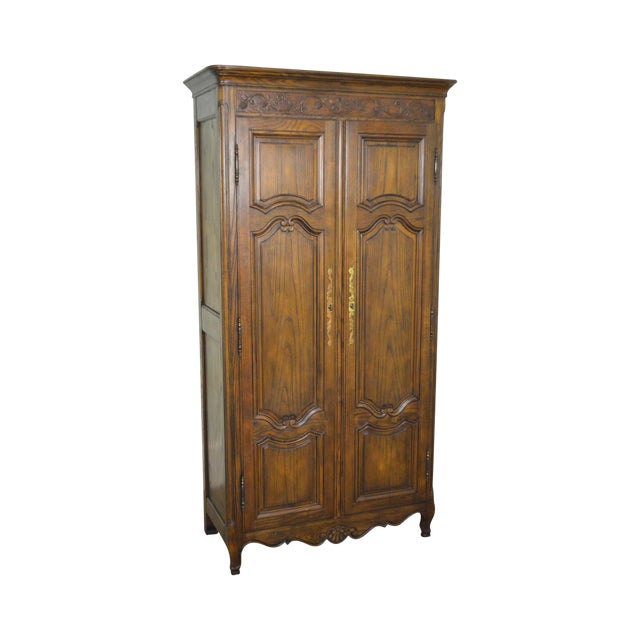 Baker French Louis XV Style Large Armoire Cabinet - Image 1 of 10