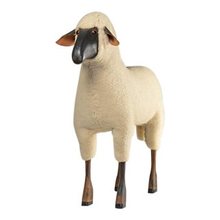 1960s Hanns Peter Krafft for Meier Germany Sheep Figurine For Sale