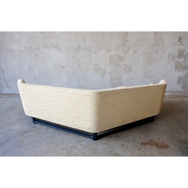Large-scale model no. 6329 'Janus Sofa' designed by Edward Wormley for Dunbar. This piece is in beautiful original...