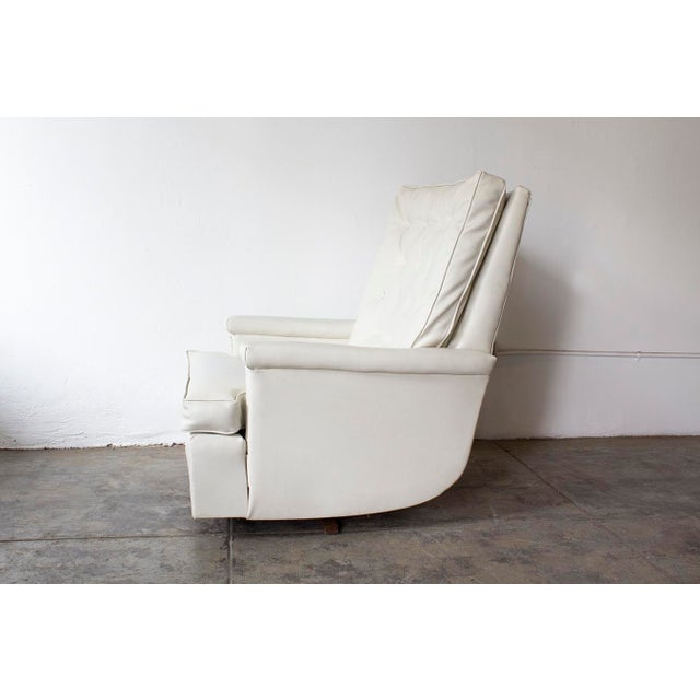 1970s Tufted Recliner Lounge Chair - Image 7 of 8