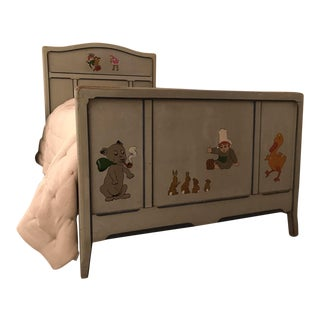 Children's Antique French Bed