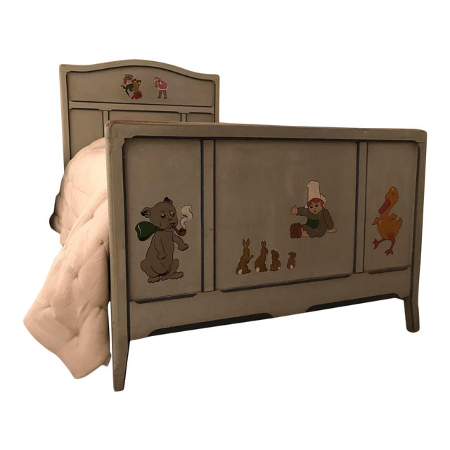 Children's Antique French Bed For Sale