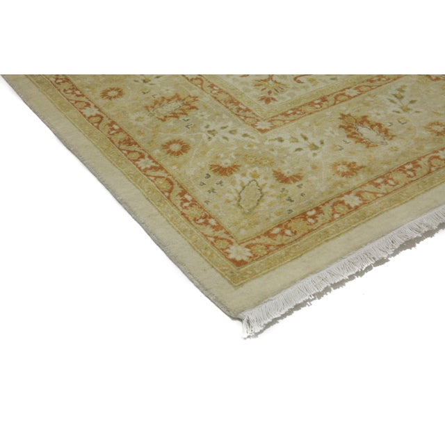 """New Traditional Hand Knotted Area Rug - 6'3"""" x 9'4"""" - Image 2 of 3"""