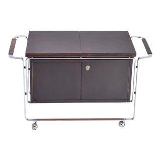 Rare Bar Cart Designed by Horst Brüning for Kill International For Sale