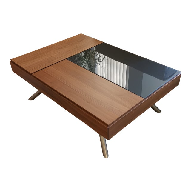 Contemporary Boconcept Chiva Coffee Table With Storage Chairish