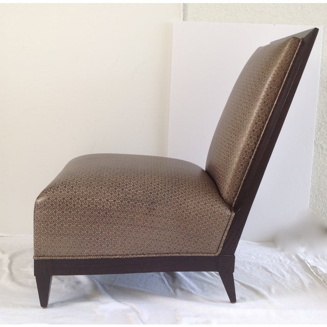 Donghia Panama Occasional Chairs - A Pair For Sale In West Palm - Image 6 of 11
