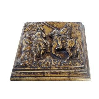 Gilded Don Quixote Box For Sale