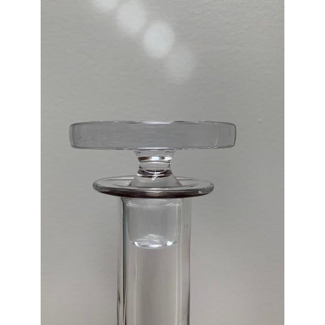 1960s Scandinavian Modern Minimalist Glass Decanter by Ronald Stennett Willson for Wedgwood For Sale In New York - Image 6 of 12