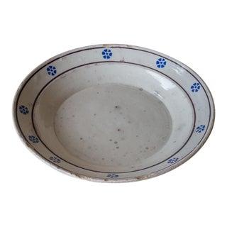 Hand Painted Italian Terracotta Bowl