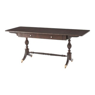 Anglo Indian Mahogany Sofa Table For Sale
