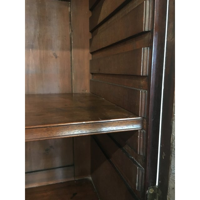 18th Century George III Bookcase Secretary For Sale - Image 9 of 13