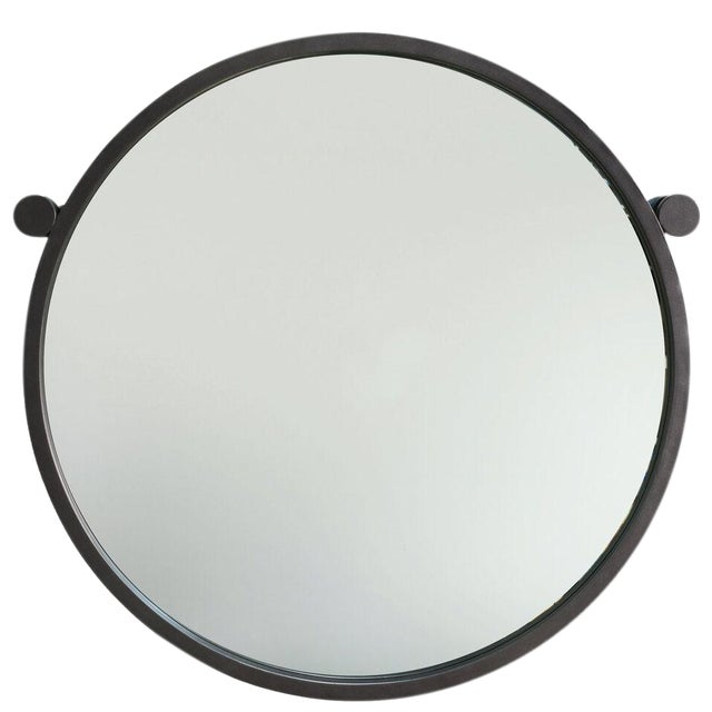 Sarreid LTD Metal Hanging Mirror - Image 1 of 4