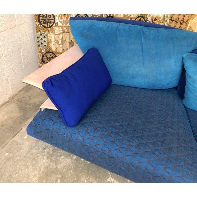 Post Modern Giorgio Saporiti Memphis Style Sofa For Sale In Miami - Image 6 of 13