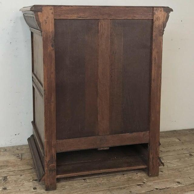 19th Century Flemish Renaissance Cabinet For Sale - Image 12 of 13