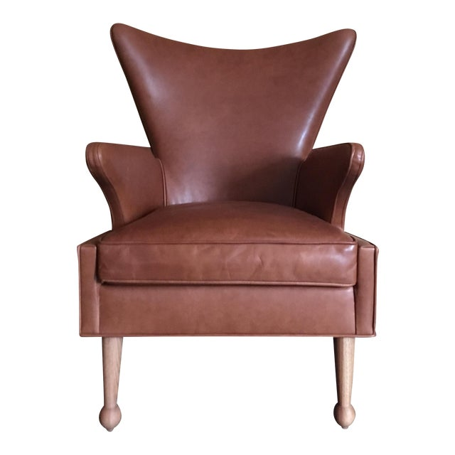 Sabin Mulholland Wingback Chair - Image 1 of 5