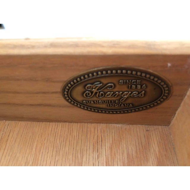 20th Century Vintage Karges Louis XVI Style Console Entry Table For Sale - Image 12 of 12