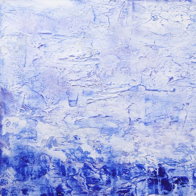 Clara Berta's acrylic and mixed-media paintings blend texture and color to create harmony, mystery and depth on the...