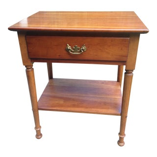 Stickley Cherry Valley One Drawer Table For Sale