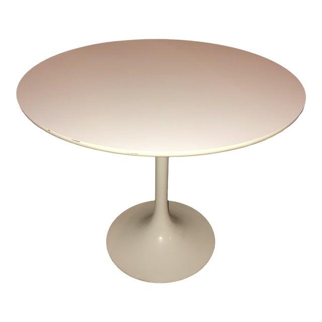 1970s Vintage Burke Saarinen Style Tulip Table For Sale