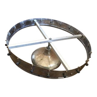 Vintage Restaurant Revolving Wheel