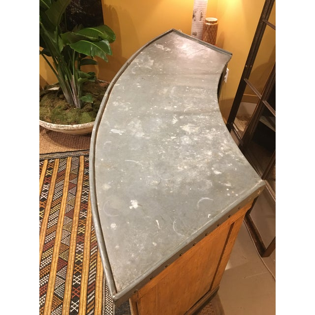 Metal French Paneling Bar For Sale - Image 7 of 10