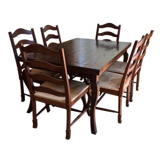 Mackenzie Dow Refectory Table Dining Set