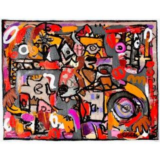 """Contemporary Original Artwork """"Beast of Prey"""" by Jonas Fisch For Sale"""