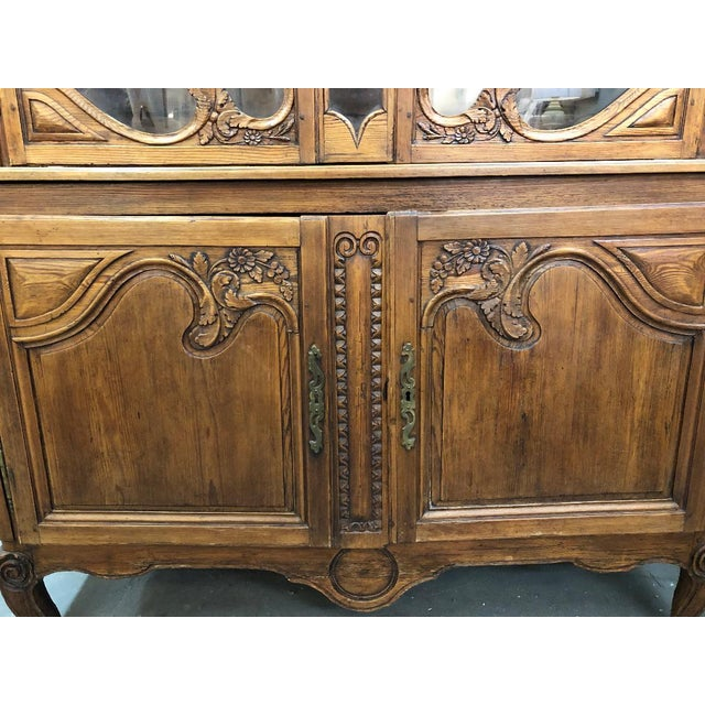 Mid 19th Century 19th Century French Buffet Deux Corps For Sale - Image 5 of 9