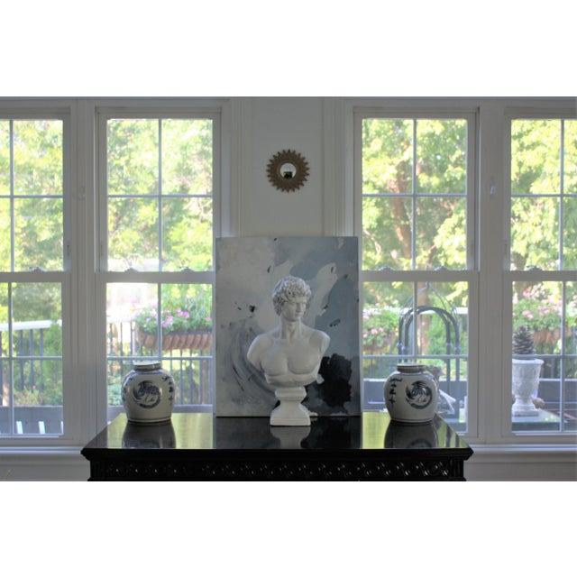 Large Scale Bust of David For Sale In Dallas - Image 6 of 13