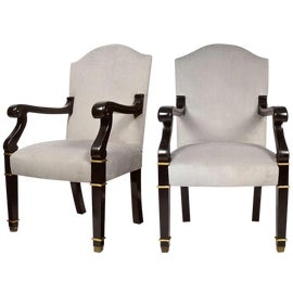 Image of Gold Leaf Side Chairs