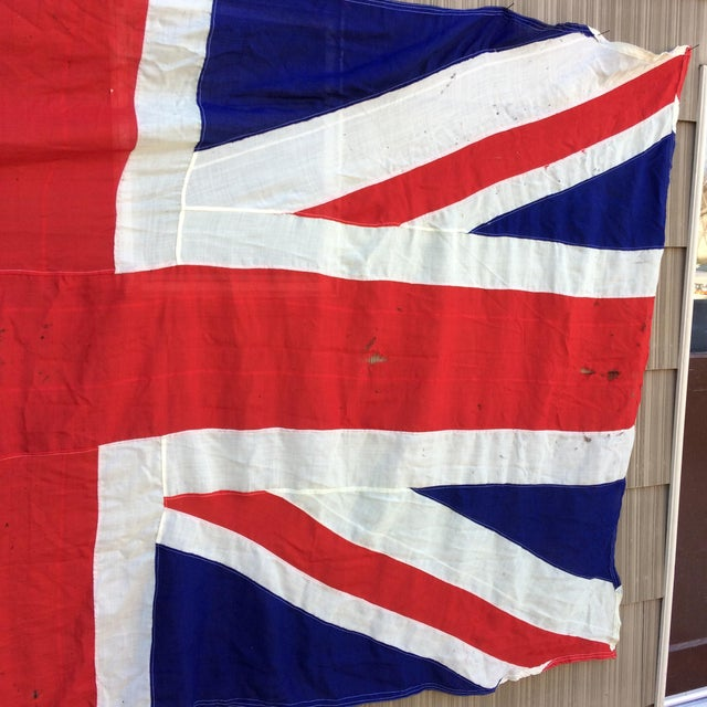 "Vintage ""Union Jack"" British Flag - Ship Flag - Image 11 of 11"