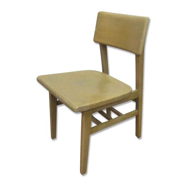 Solid Maple School Chair For Sale - Image 9 of 10