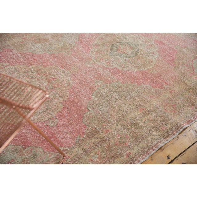 """White Vintage Distressed Sparta Rug Runner - 5' x 14'9"""" For Sale - Image 8 of 13"""