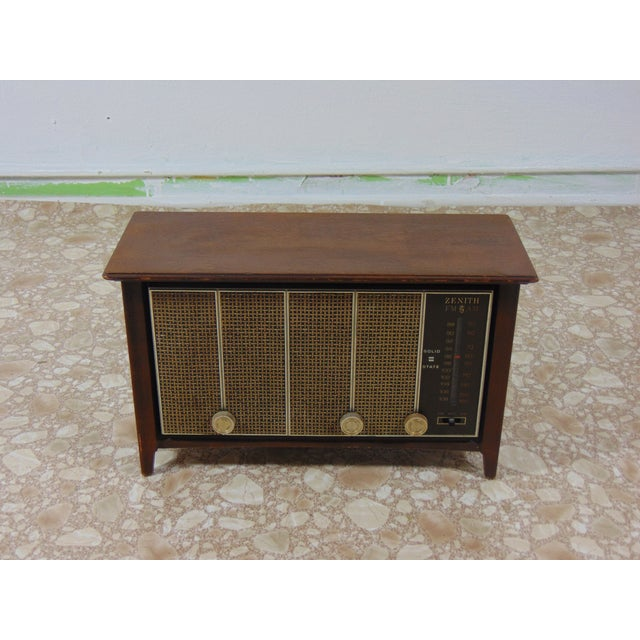 1930s Vintage Zenith Brown Radio For Sale - Image 11 of 12