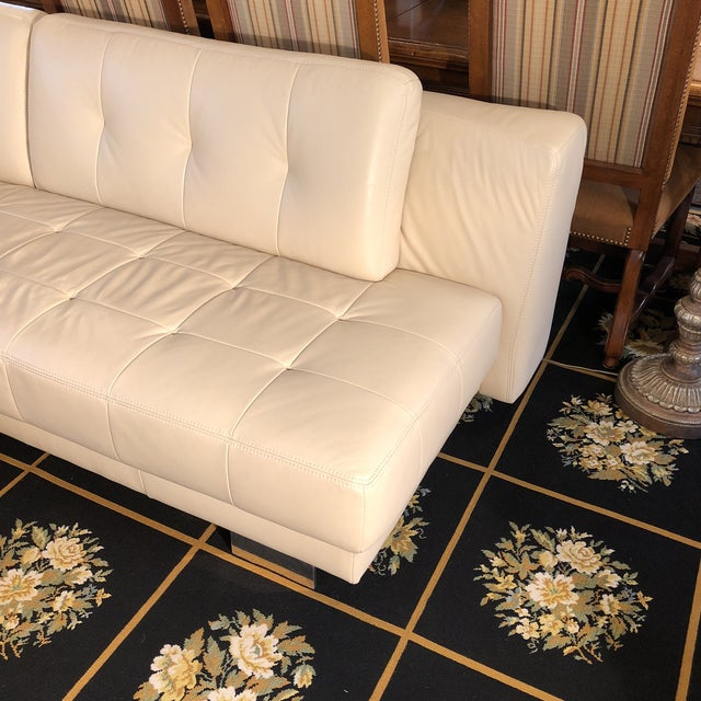 White W. Schillig Carousel Sectional For Sale - Image 8 of 12