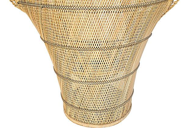 1930s Rattan Peacock Chair For Sale   Image 11 Of 12