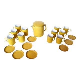 LeGardo Tackett for Schmid Coffee Set 20 Pieces For Sale