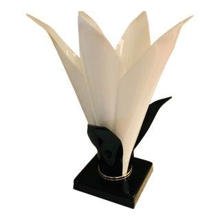 1970s Rougier Floriform Tulip Lamp For Sale