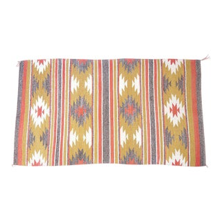 Vintage Navajo Rug - 2′8″ × 4′6″ For Sale
