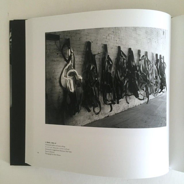 """Black """"Richard Serra Sculpture : Forty Years """" Rare Moma Exhibition Hardcover 1st Edtn Book For Sale - Image 8 of 10"""