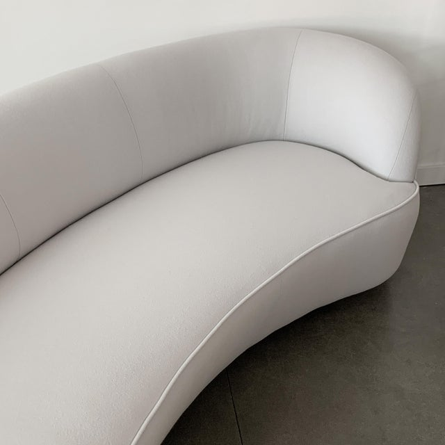 Vladimir Kagan Serpentine Sofa for Directional For Sale - Image 10 of 13