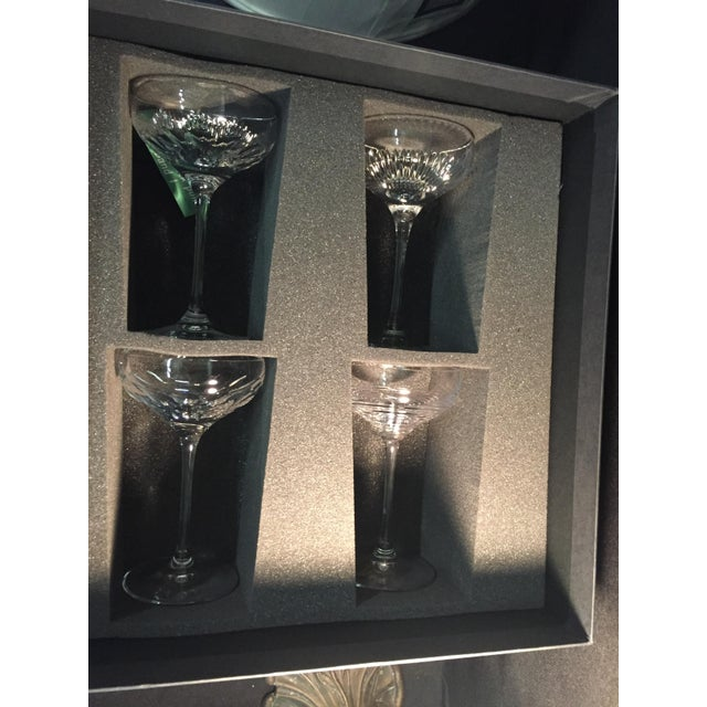 Waterford Mixology Couples Champagne Glasses Set of 4 - Image 3 of 8