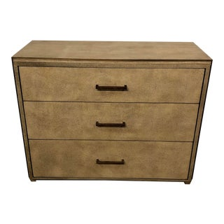 Mr. & Mrs. Howard Cream Shagreen Chest For Sale