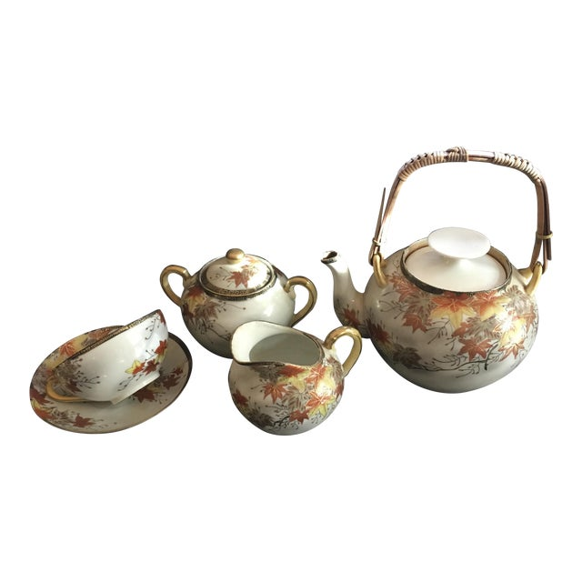 19th Century Japanese Tea Set - Image 1 of 4