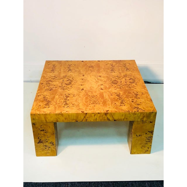 Brown Exceptional Burl Wood Table For Sale - Image 8 of 8