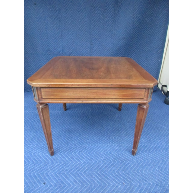 Transitional William a Berkey for John Widdicomb Side Table For Sale - Image 3 of 12