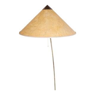 Brass floor lamp by JT Kalmar 1960 original condition
