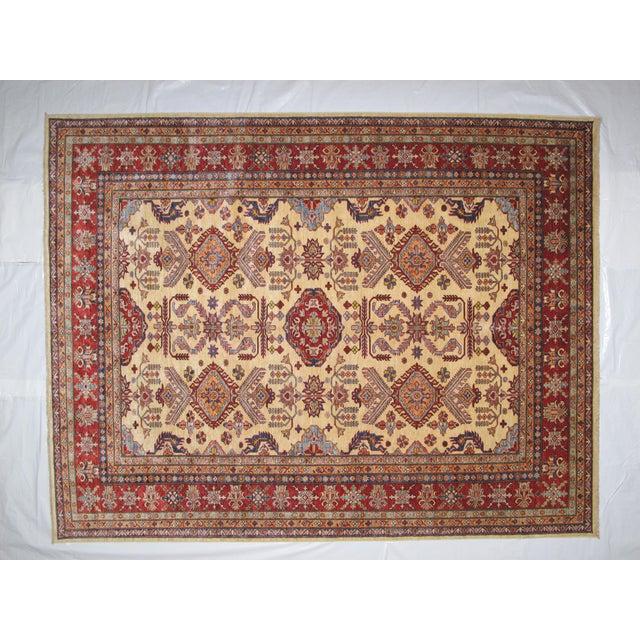 """Hand-Woven Wool Kazak Rug - 8' X 10'3"""" - Image 2 of 4"""